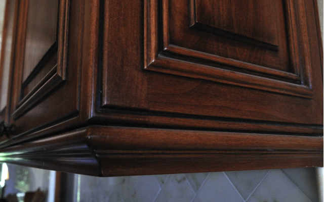 Custom Kitchen Detail in Palo Alto, California